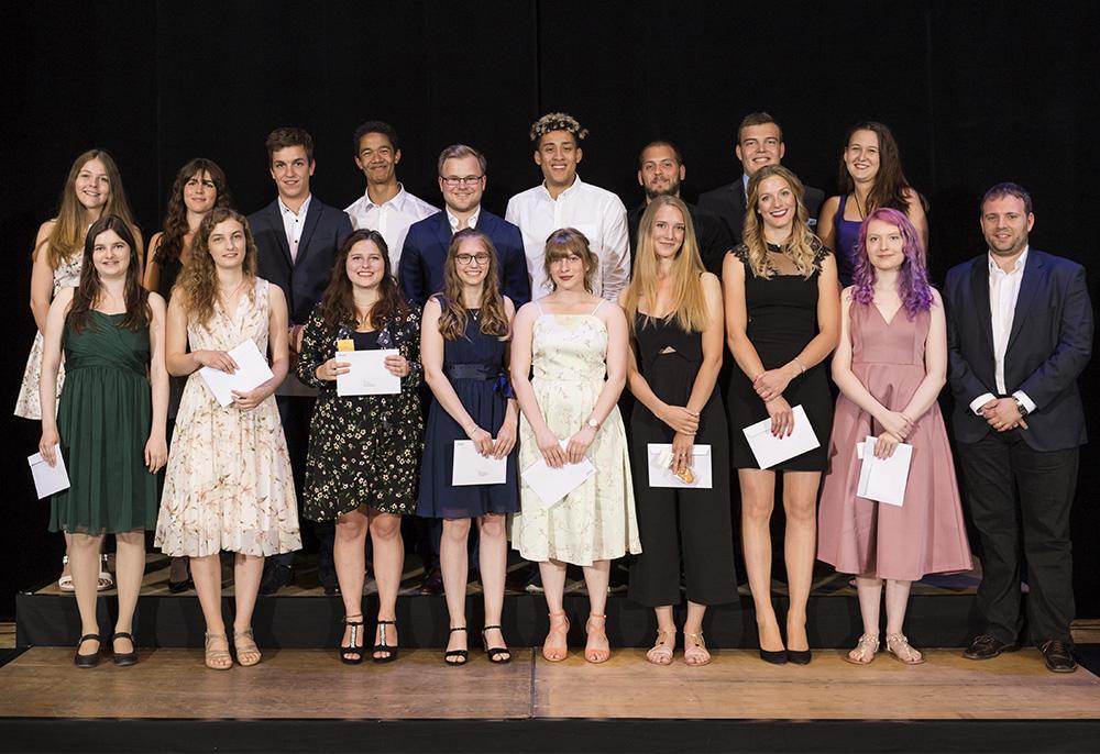 Juni 2018: Die erfolgreichen Absolventinnen und Absolventen